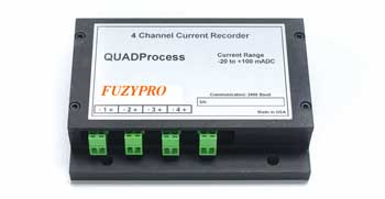 4 Channel, Current Recorder