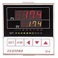 1/4 DIN, Fuzzy Logic Heat/Cool Temperature Controllers, Fuzzy Logic Heat/Cool Controllers, Fuzzy Logic Temperature Controllers, FuzyPro