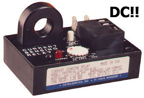 Direct, Current, Sensing Relay, CR5395